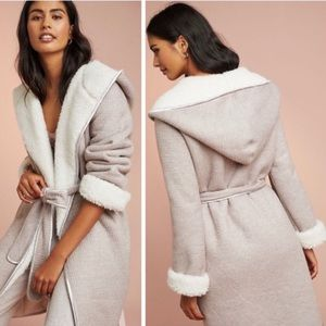 NWT Anthro Pure + Good Reversible Robe